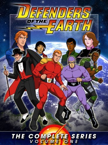 Defenders Of The Earth Vol. 1 Clr Nr 5 DVD