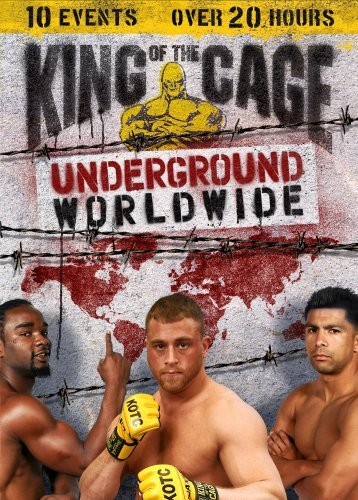 King Of The Cage Underground Worldwide Box Set Nr 5 DVD