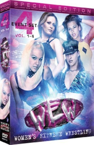Wew Women Extreme Wrestling Vol. 1 Special Ed. Nr 2 DVD