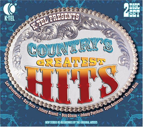 Country's Greatest Hits Country's Greatest Hits 2 CD Set Digipak