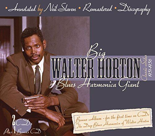 Walter Horton Blues Harmonica Giant 3 CD