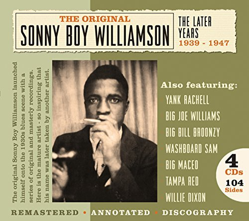 Sonny Boy Williamson Later Years 1939 1947 4 CD