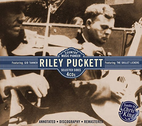 Riley Puckett Country Music Pioneer Featurin 4 CD