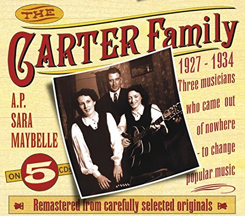 Carter Family 1927 34 5 CD