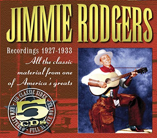 Jimmie Rodgers Recordings 1927 33 5 CD