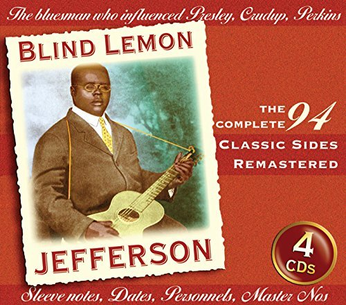 Blind Lemon Jefferson Classic Sides 4 CD