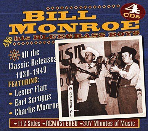 Bill Monroe All The Classics 4 CD