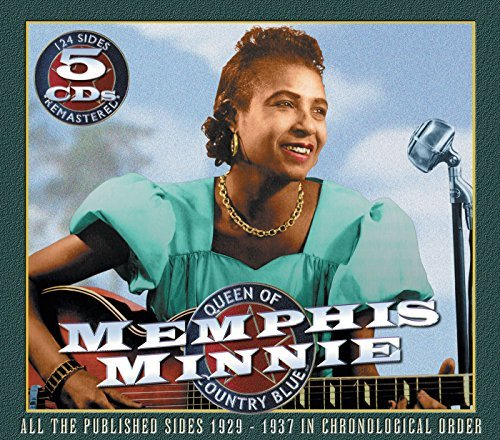 Memphis Minnie Queen Of Country Blues 1929 37 5 CD