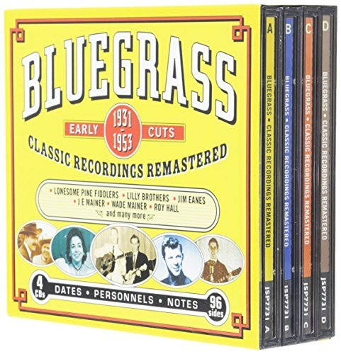 Bluegrass Early Cuts 1931 53 Bluegrass Early Cuts 1931 53 4 CD