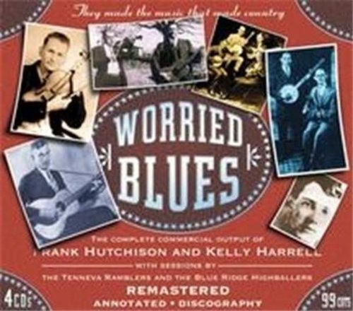 Frank Hutchison Worried Blues 4 CD