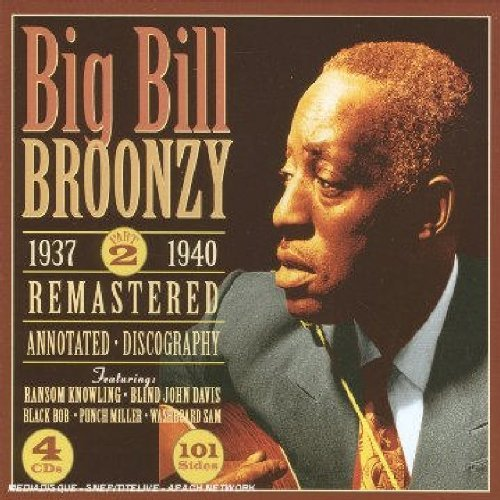 Big Bill Broonzy Vol. 2 1937 40 4 CD