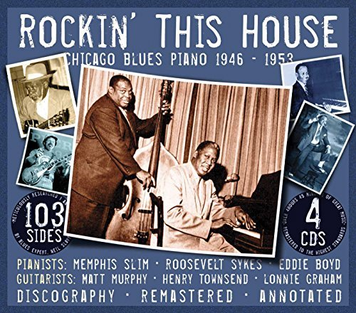 Memphis Slim Rockin' This House Remastered 4 CD