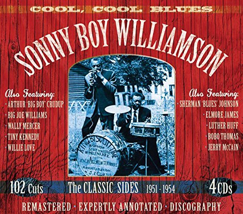 Sonny Boy Williamson Cool Cool Blues Remastered 4 CD