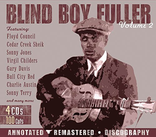 Blind Boy Fuller Vol. 2 Remastered 4 CD
