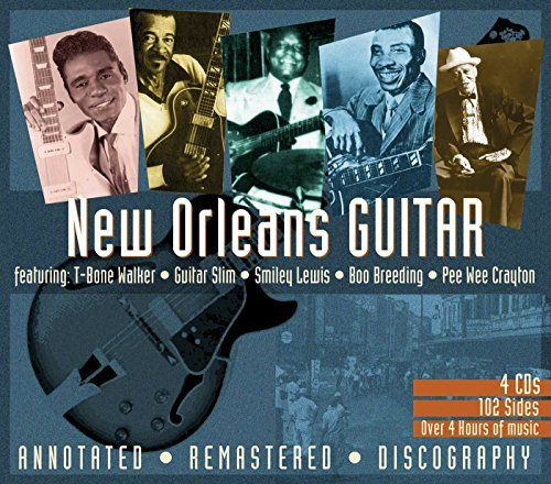 New Orleans Guitar New Orleans Guitar Remastered 4 CD