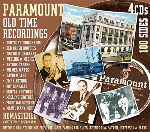 Paramount Old Time Recordings Paramount Old Time Recordings 4 CD