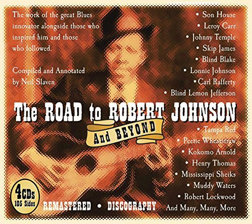 Robert Johnson Road To Robert Johnson 4 CD