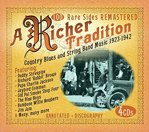 Richer Tradition Country Blues Richer Tradition Country Blues 4 CD