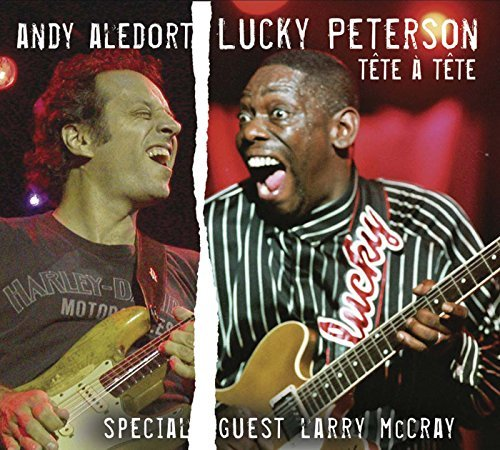 Lucky Peterson And Andy Aledort Tete A Tete Digipak
