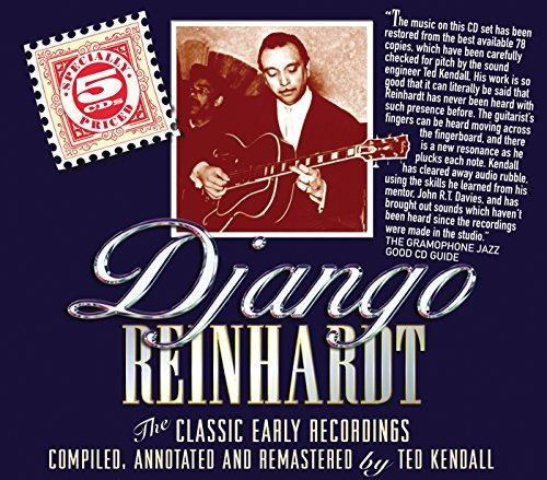 Django Reinhardt Classic Early Recordings In Ch Box Set