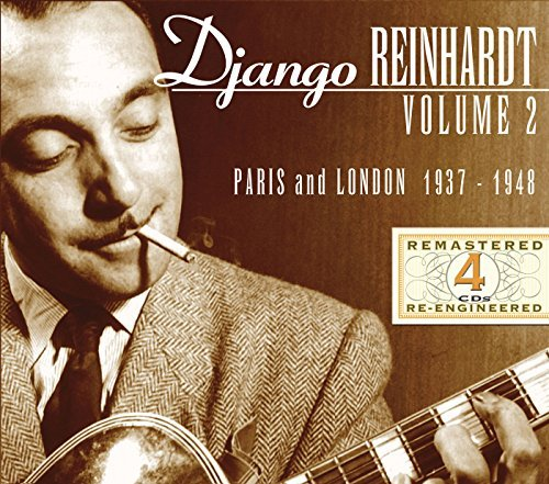 Reinhardt Django Vol. 2 Paris & London 1937 48 4 CD Box Set