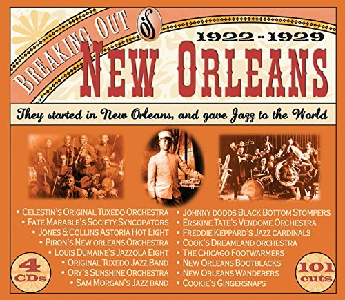 Breaking Out Of New Orleans 19 Breaking Out Of New Orleans 19 4 CD