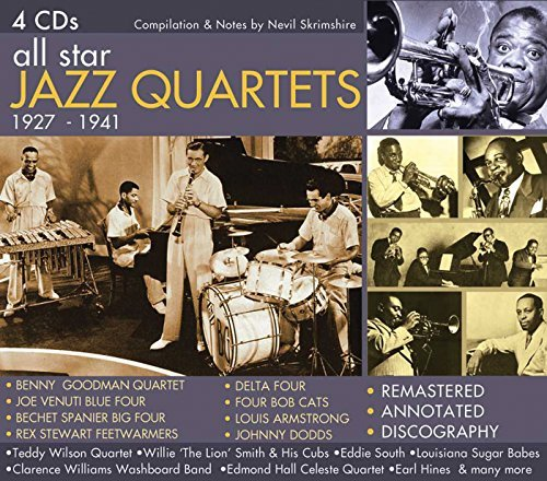 All Star Jazz Quartets All Star Jazz Quartets Remastered 4 CD Set