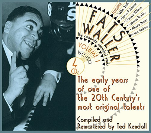 Fats Waller Vol. 1 Complete Recorded Works 4 CD