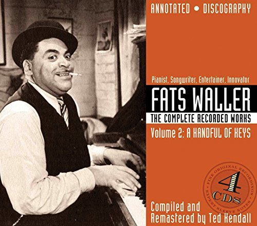 Fats Waller Vol. 2 Complete Recorded Works 4 CD