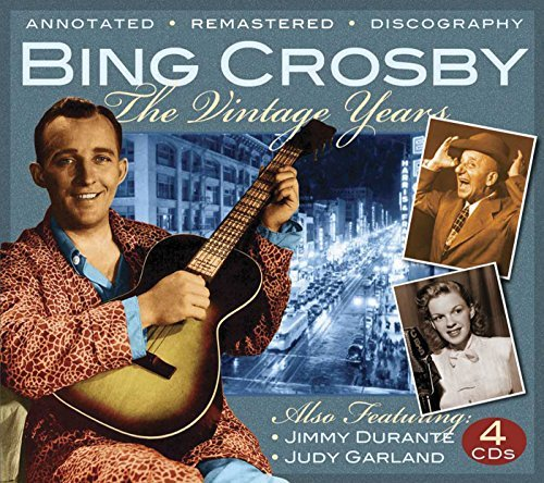 Bing Crosby Vintage Years Remastered 4 CD Set