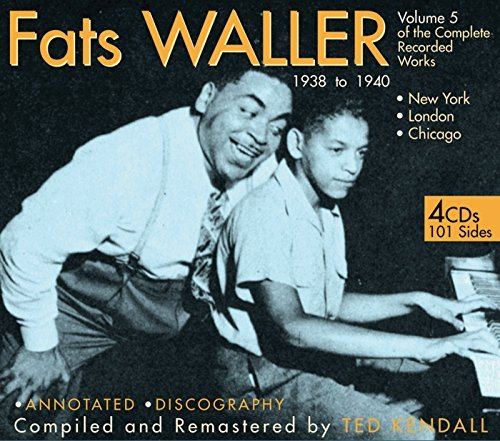 Fats Waller Vol. 5 Of The Complete Recorde Remastered 4 CD