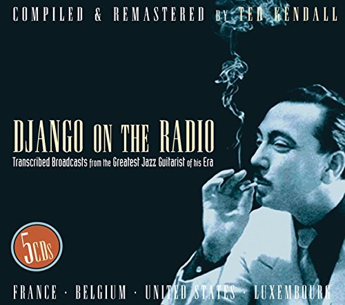 Reinhardt Django Django On The Radio 5 CD Set