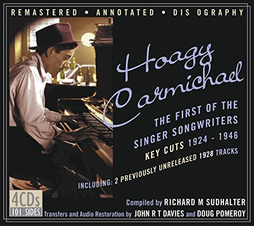 Hoagy Carmichael First Of The Singer Songwriter 4 CD
