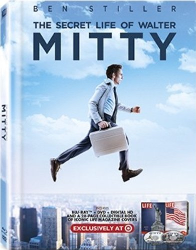 The Secret Life Of Walter Mitty Stiller Wiig Scott Blu Ray DVD