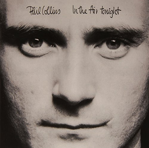Phil Collins In The Air Tonight Black & White Single W Comic Book Limited To 2500 Pieces.