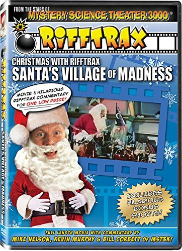 Mike Nelson Kevin Murphy Bill Corbett Various Christmas With Rifftrax Santa's Village Of Madnes
