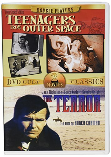 Teenagers From Outer Space Ter DVD Cult 2 Movies Classics Clr Nr 2 On 1 Amaray Boxed