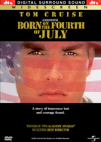 Born On The Fourth Of July Cruise Dafoe Barry Clr Cc 5.1 Dts Ws Keeper R