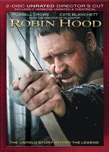 Robin Hood (2010) Crowe Russell Ws Special Ed. Pg13 2 DVD