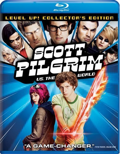 Scott Pilgrim Vs. The World Cera Winstead Blu Ray DVD Pg13 Ws
