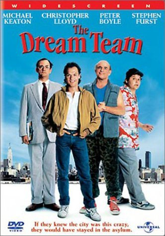 Dream Team Keaton Lloyd Boyle Furst DVD Pg13