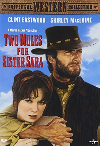 Two Mules For Sister Sara Maclaine Eastwood Fabregas Mor Ws Pg