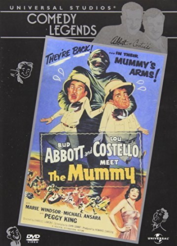 Meet The Mummy Abbott & Costello Clr Cc Nr