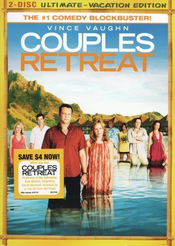 Couples Retreat Vaughn Bateman Favreau Bell 2 Disc Ultimate Vacation Ed.