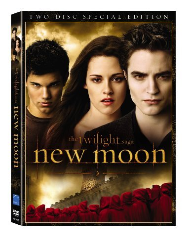 Twilight New Moon Pattinson Stewart DVD Pg13 2 DVD