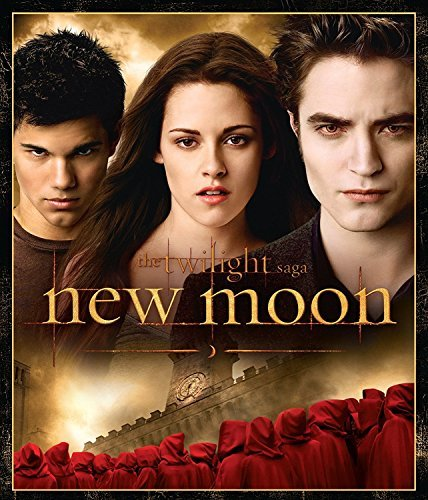 Twilight Saga New Moon Pattinson Stewart Blu Ray Ws Pg13