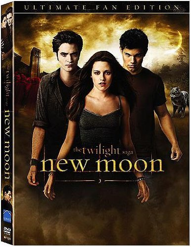 Twilight New Moon Pattinson Stewart DVD