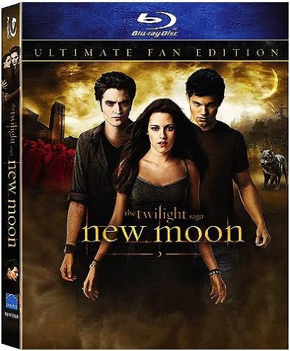 Twilight New Moon Pattison Stewart Blu Ray Special Edition Pg13 Ws