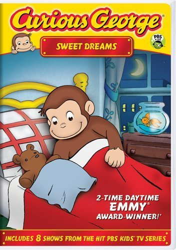 Curious George Sweet Dreams DVD Nr