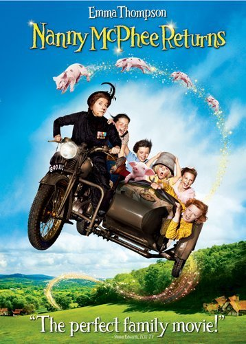 Nanny Mcphee Returns Thompson Gyllehall Smith DVD Pg